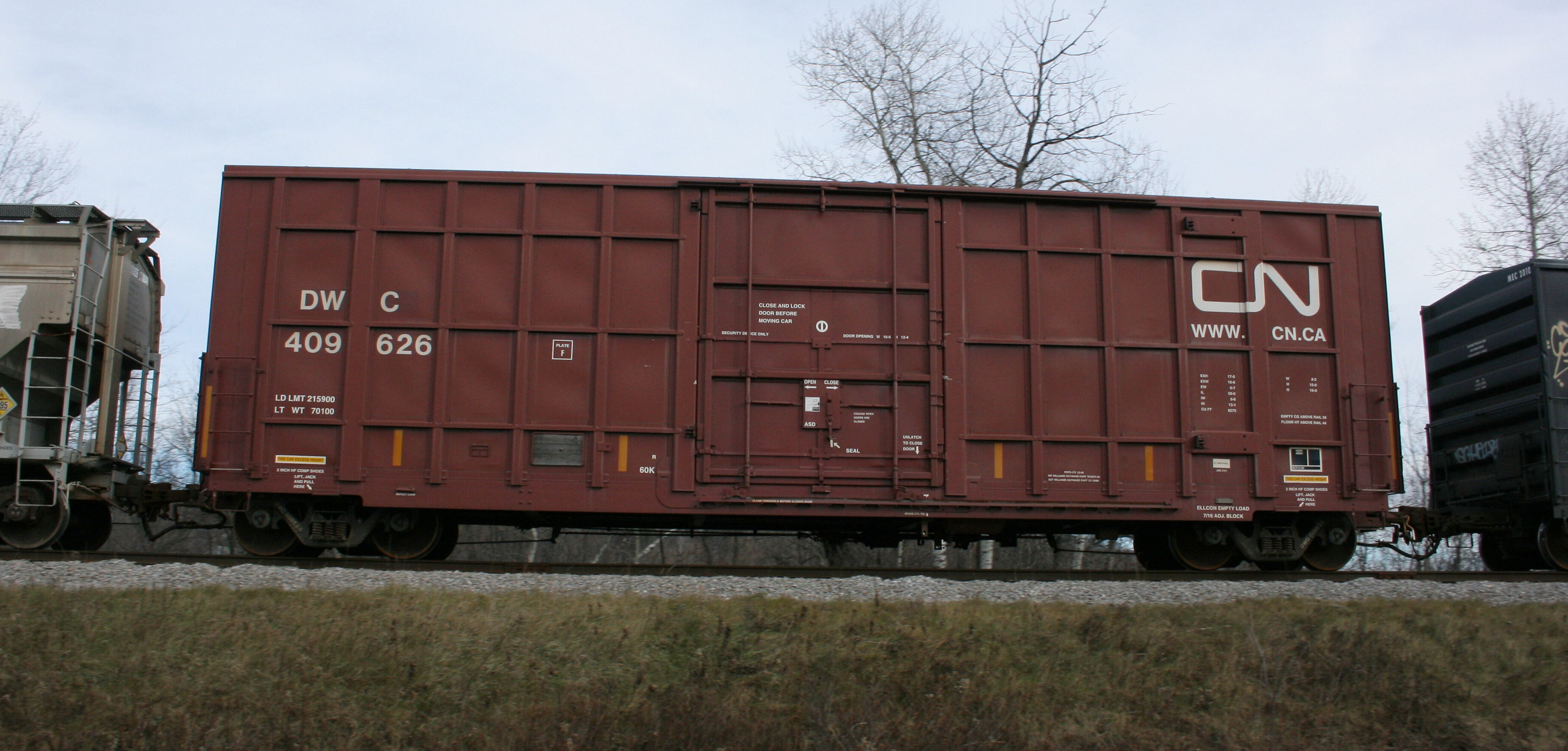 Vehicle - Rail - Rolling Stock (Freight) - Boxcar - Trinity 6275 Plug Door