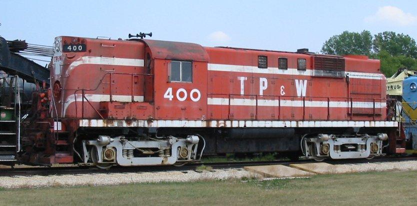 Vehicle - Rail - Locomotive - Diesel - Alco RS-11