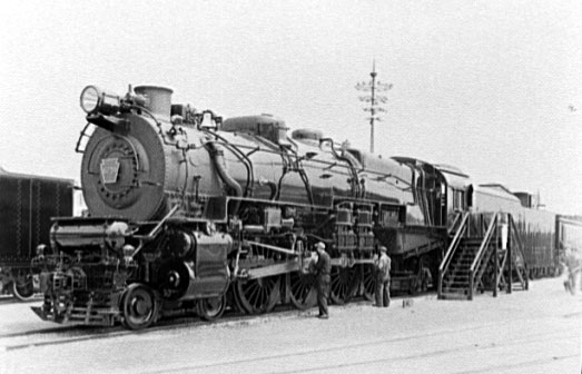 Rail - Locomotive - Steam - 4-8-2 L4 Mohawk
