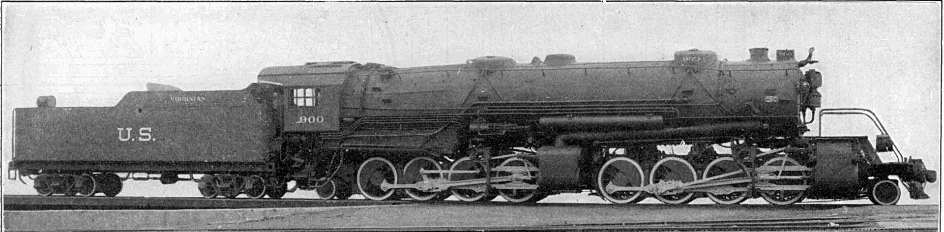 Rail - Locomotive - Steam - 2-8-8-2 USRA