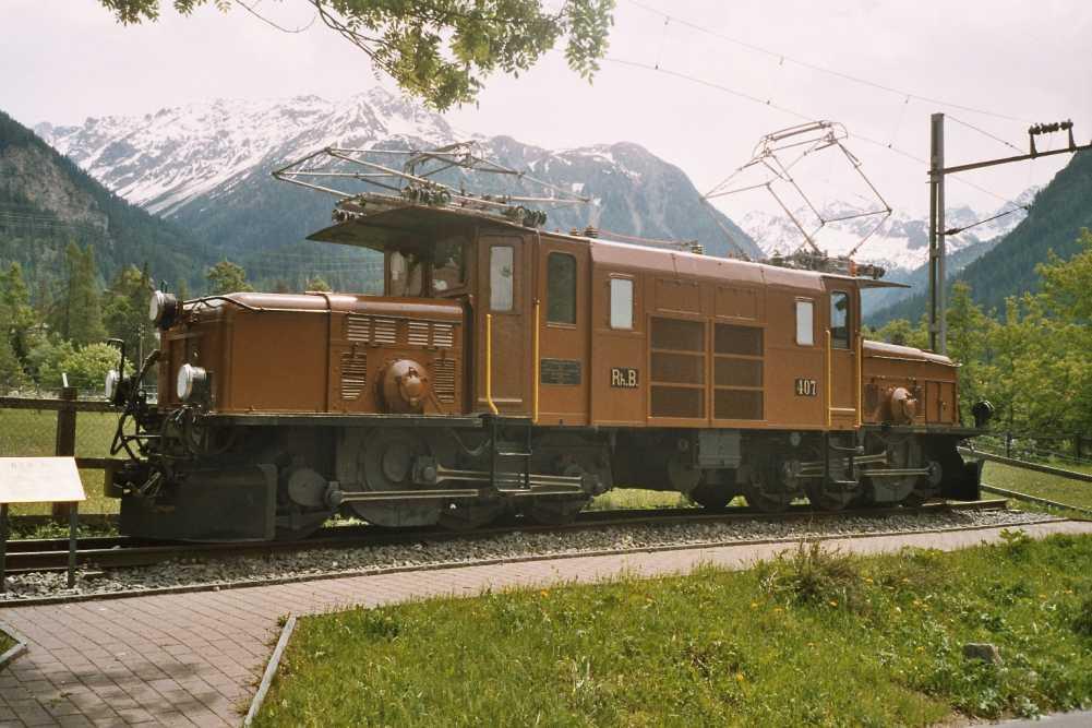 Vehicle - Rail - Locomotive - Electric - Crocodile