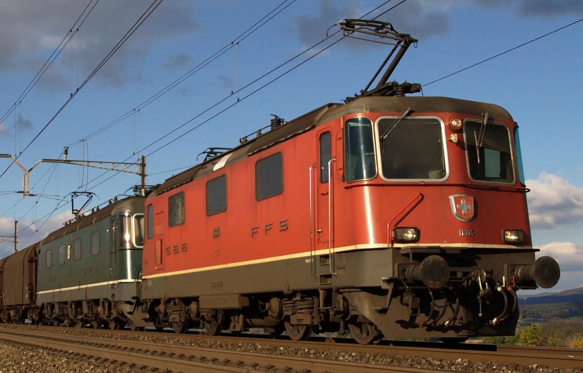 Vehicle - Rail - Locomotive - Electric - Re 4/4 II