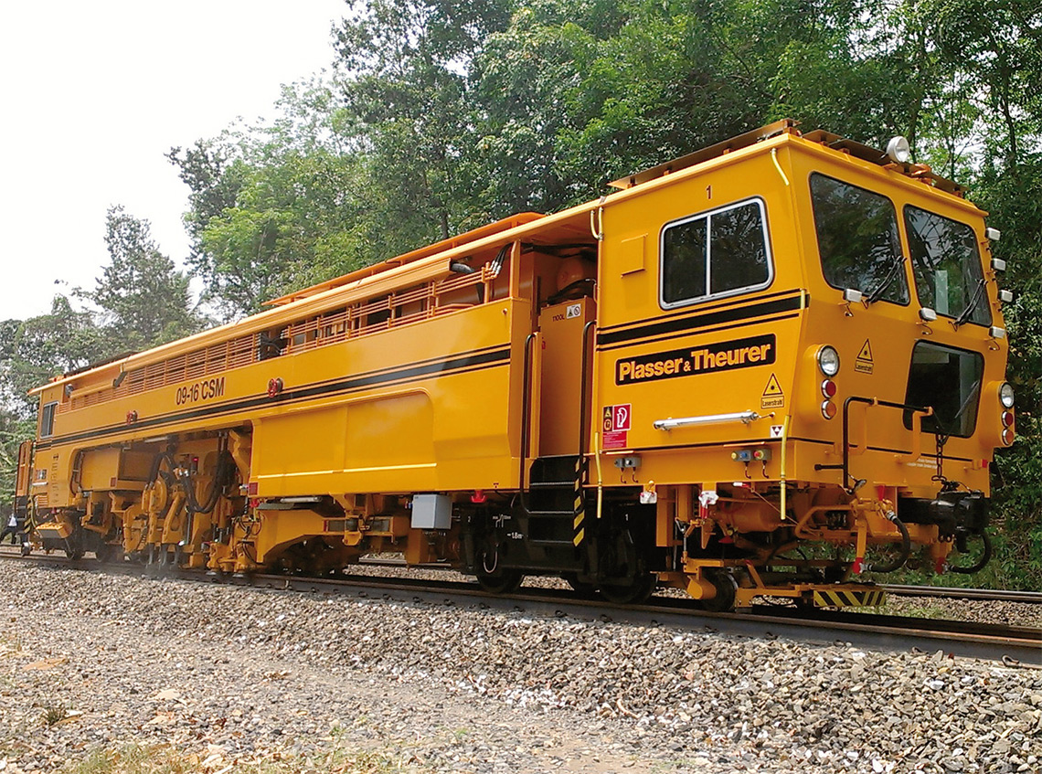 Rail - Rolling Stock (Freight) - Maintenance of Way - Plasser & Theurer C.A.T. 09-16