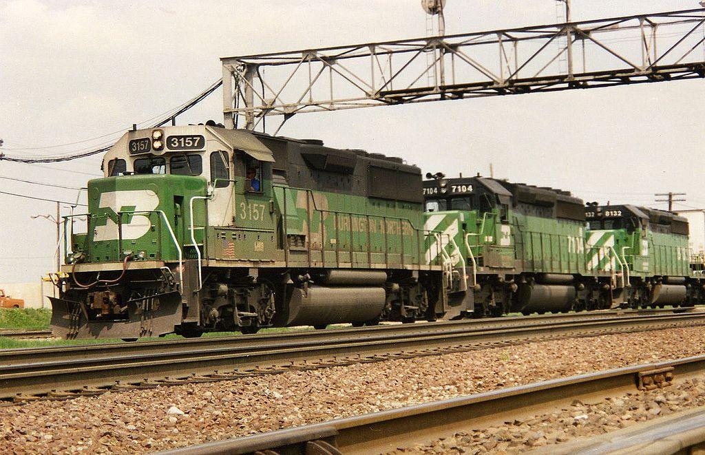 Rail - Locomotive - Diesel - EMD GP50