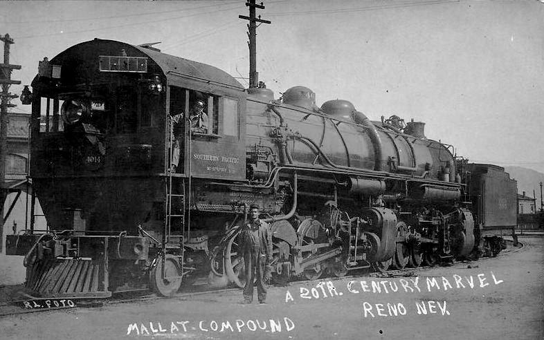 Rail - Locomotive - Steam - Cab Forward