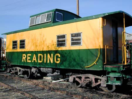 Rail - Rolling Stock (Freight) - Caboose - Cupola, Steel. NE