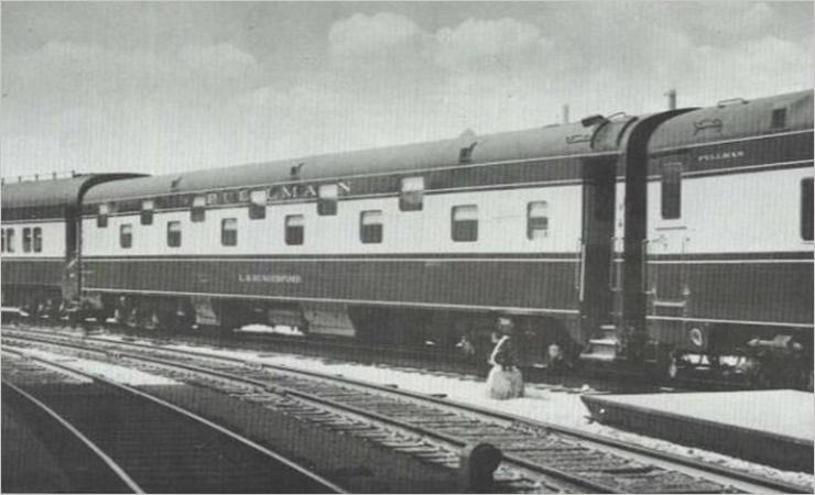 Vehicle - Rail - Passenger Car - Streamlined/Lightweight - Pullman Duplex Sleeper