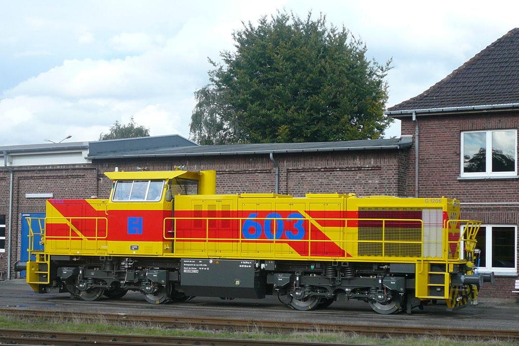 Rail - Locomotive - Diesel - Vossloh G1206