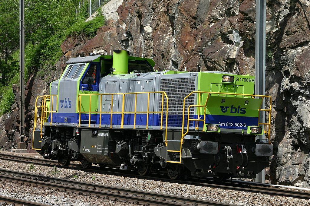 Rail - Locomotive - Diesel - Vossloh G1700BB