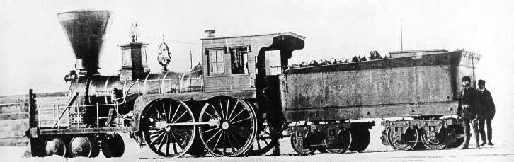 Rail - Locomotive - Steam - 4-4-0 American