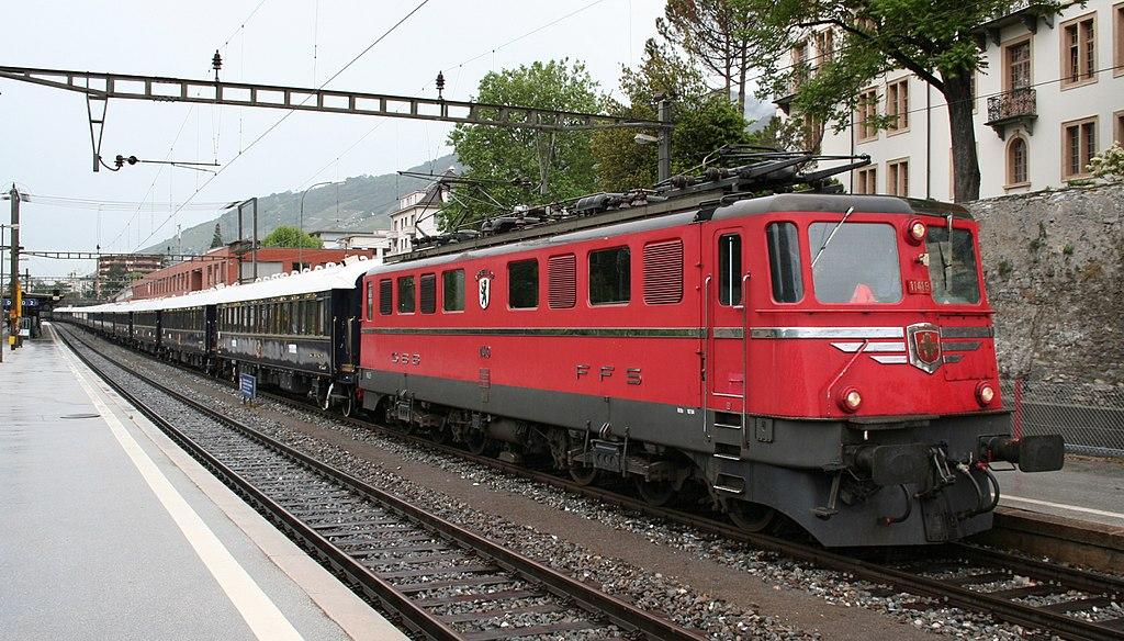 Vehicle - Rail - Locomotive - Electric - Ae 6/6