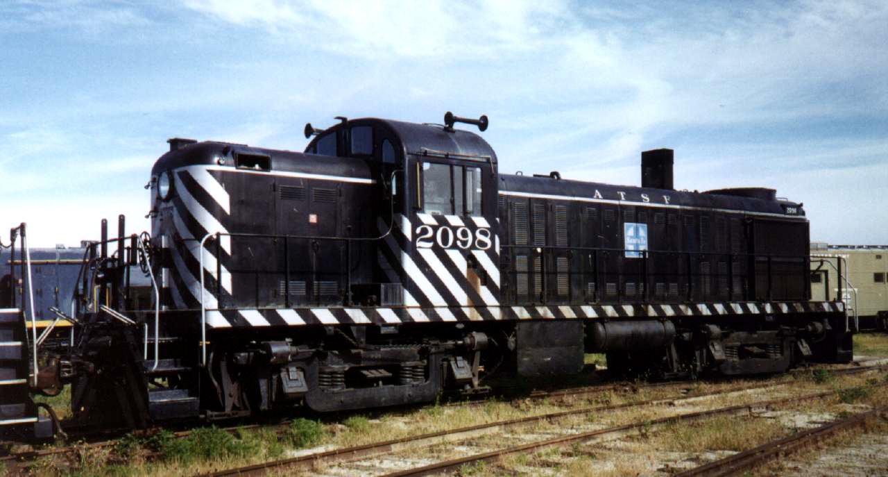 Vehicle - Rail - Locomotive - Diesel - Alco RS-2