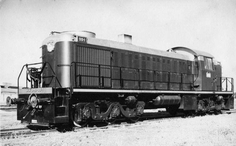 Vehicle - Rail - Locomotive - Diesel - Alco RSC-2