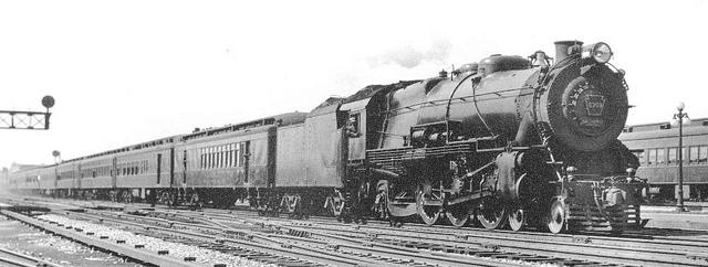 Rail - Passenger Train - Steam - Early
