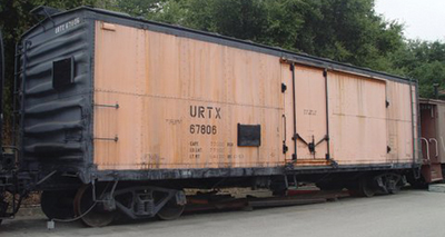 Vehicle - Rail - Rolling Stock (Freight) - Reefer - 40 Foot, ice, Steel