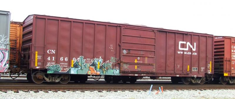 Rail - Rolling Stock (Freight) - Boxcar - 50 Foot Steel, SIECO