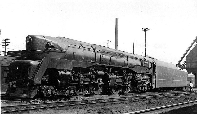 Rail - Locomotive - Steam - 4-4-4-4 T1