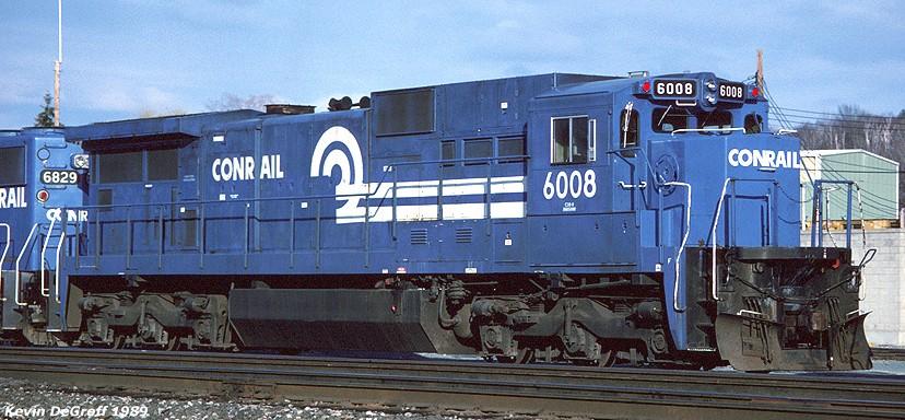 Rail - Locomotive - Diesel - GE C39-8