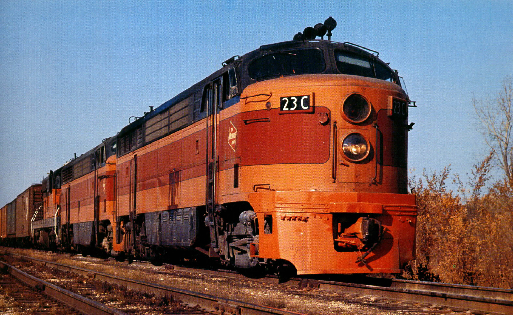 Rail - Locomotive - Diesel - Fairbanks Morse C-Liner