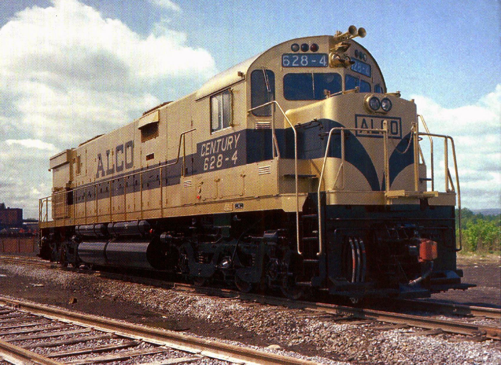 Vehicle - Rail - Locomotive - Diesel - Alco C-628