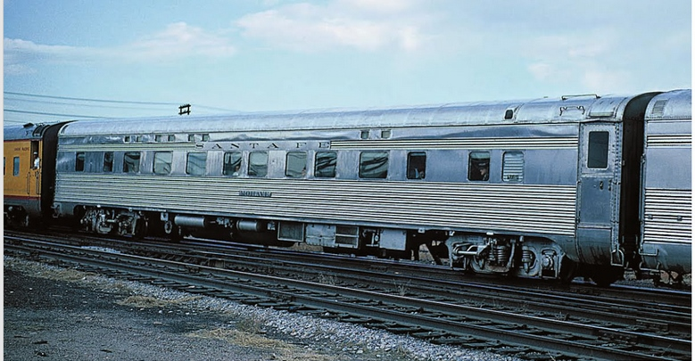 Vehicle - Rail - Passenger Car - Streamlined/Lightweight - Pullman Sleeper 4-4-2