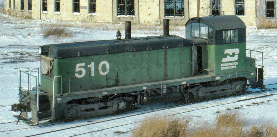 Rail - Locomotive - Diesel - EMD NW2