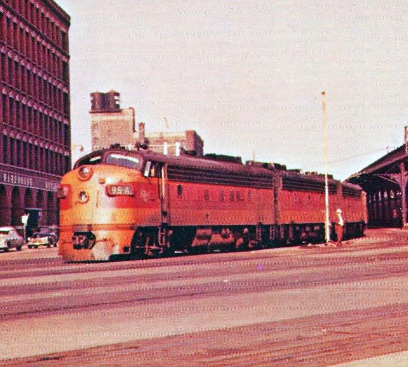 Rail - Locomotive - Diesel - EMD FP7