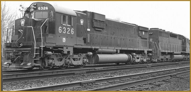 Vehicle - Rail - Locomotive - Diesel - Alco C-630