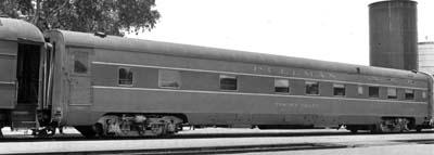 Vehicle - Rail - Passenger Car - Streamlined/Lightweight - Pullman Sleeper 6-6-4
