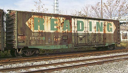 Rail - Rolling Stock (Freight) - Boxcar - 50 Foot Steel, Plug Door