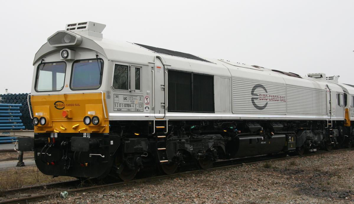 Vehicle - Rail - Locomotive - Diesel - EMD Class 77