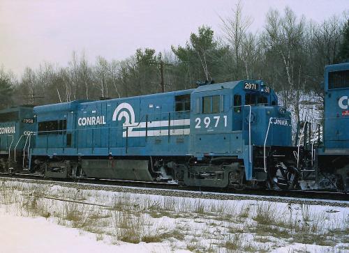Vehicle - Rail - Locomotive - Diesel - GE U36B