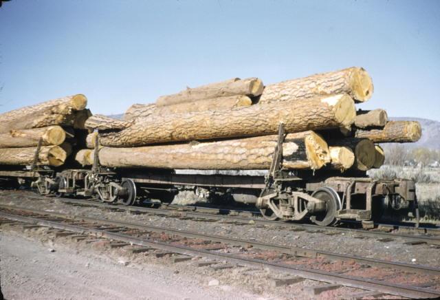 Vehicle - Rail - Rolling Stock (Freight) - Log Car - Skeleton