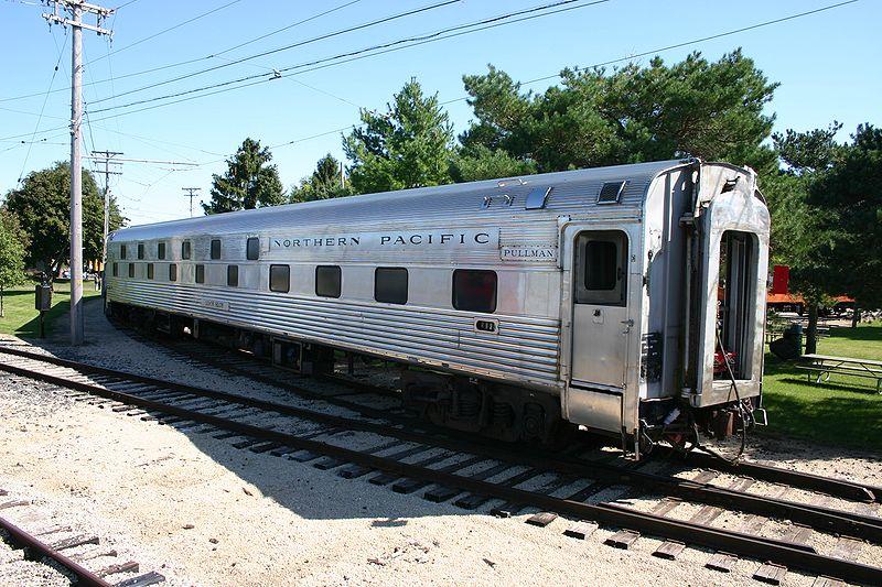 Rail - Passenger Car - Streamlined/Lightweight - Budd, Corrugated Slumbercoach