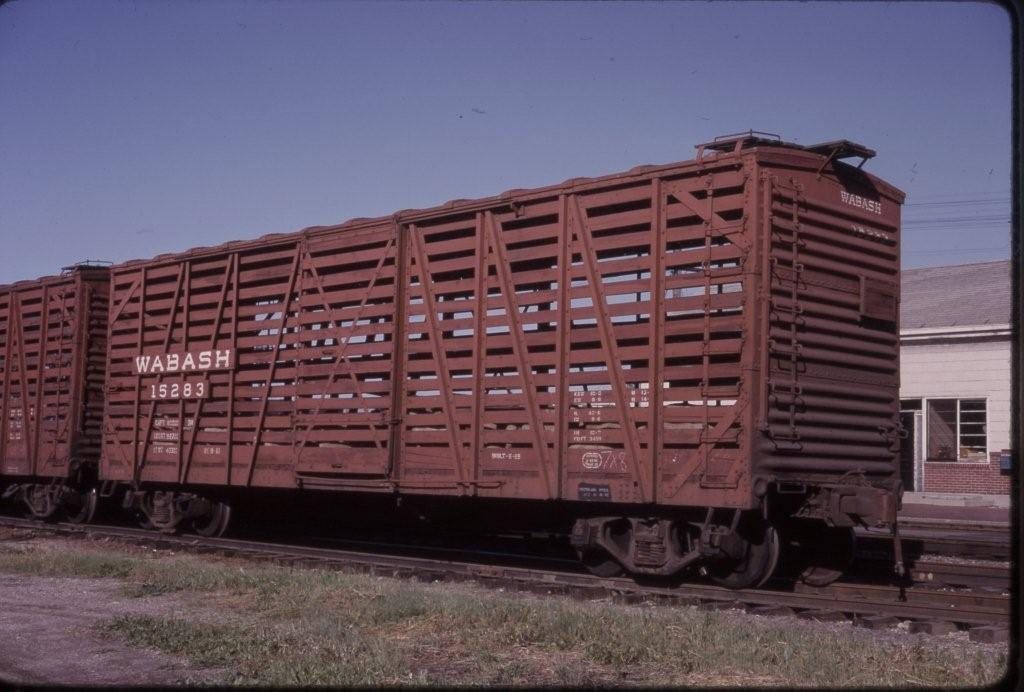 Vehicle - Rail - Rolling Stock (Freight) - Stock Car - 40 Foot, Steel