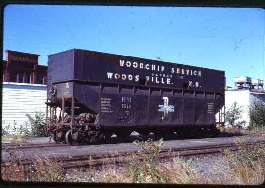 Rail - Rolling Stock (Freight) - Open Hopper - Woodchip