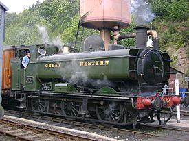 Vehicle - Rail - Locomotive - Steam - 0-6-0 GWR Pannier Tank