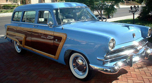 Vehicle - Automobile - Ford - Country Squire