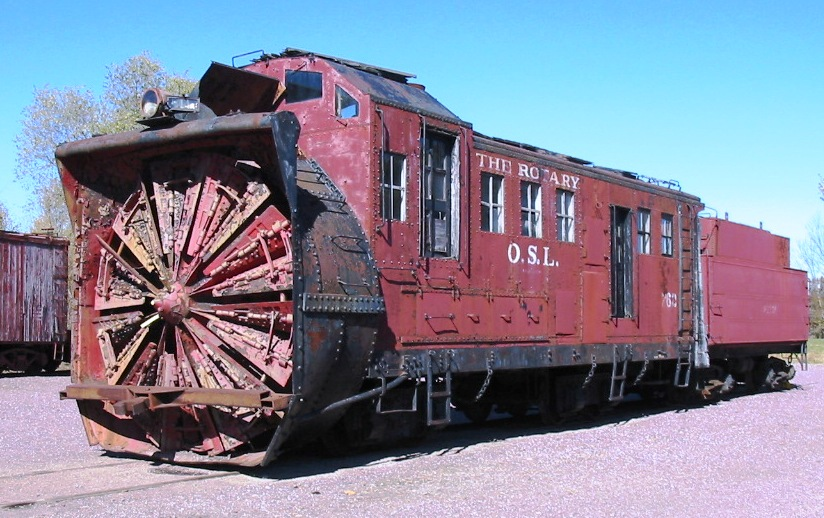 Rail - Rolling Stock (Freight) - Maintenance of Way - Snow Plow, Leslie
