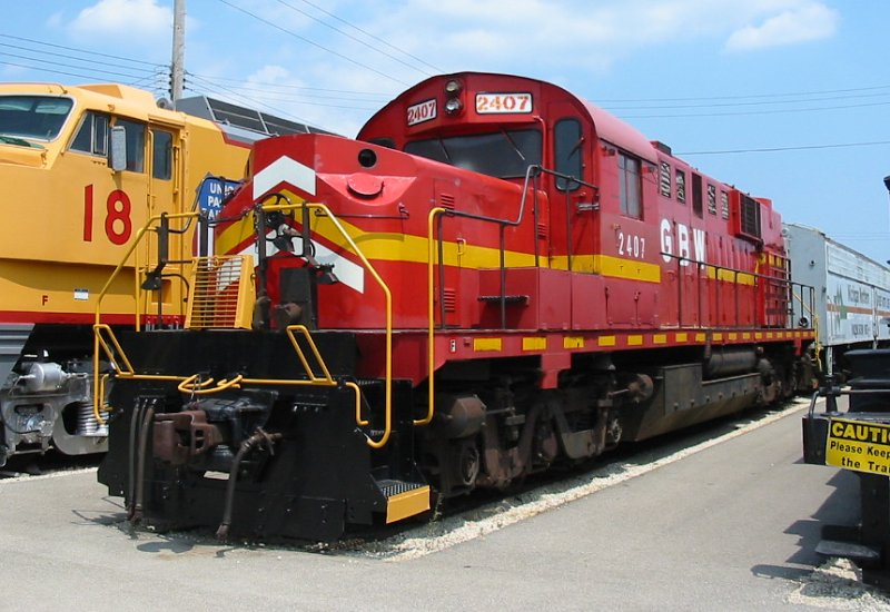 Vehicle - Rail - Locomotive - Diesel - Alco RSD-15