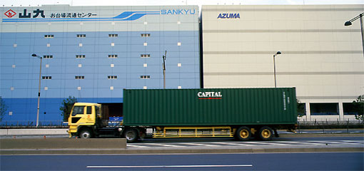 Vehicle - Truck - Tractor-Trailer - Container