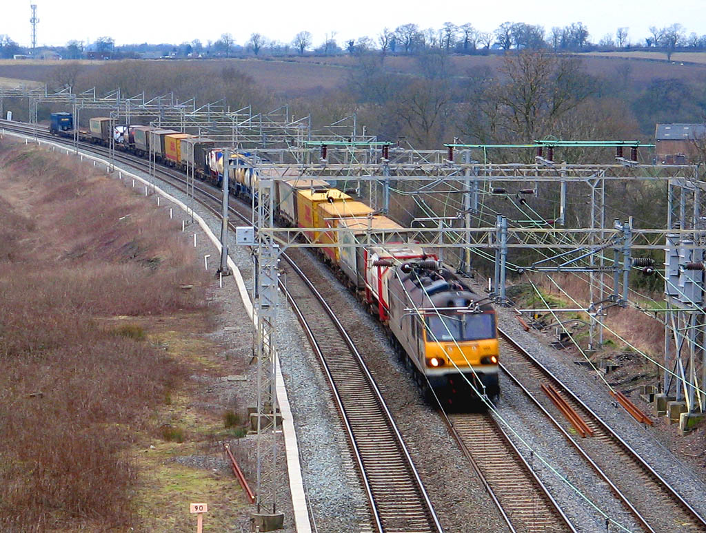 Vehicle - Rail - Freight Train - Electric - Freight