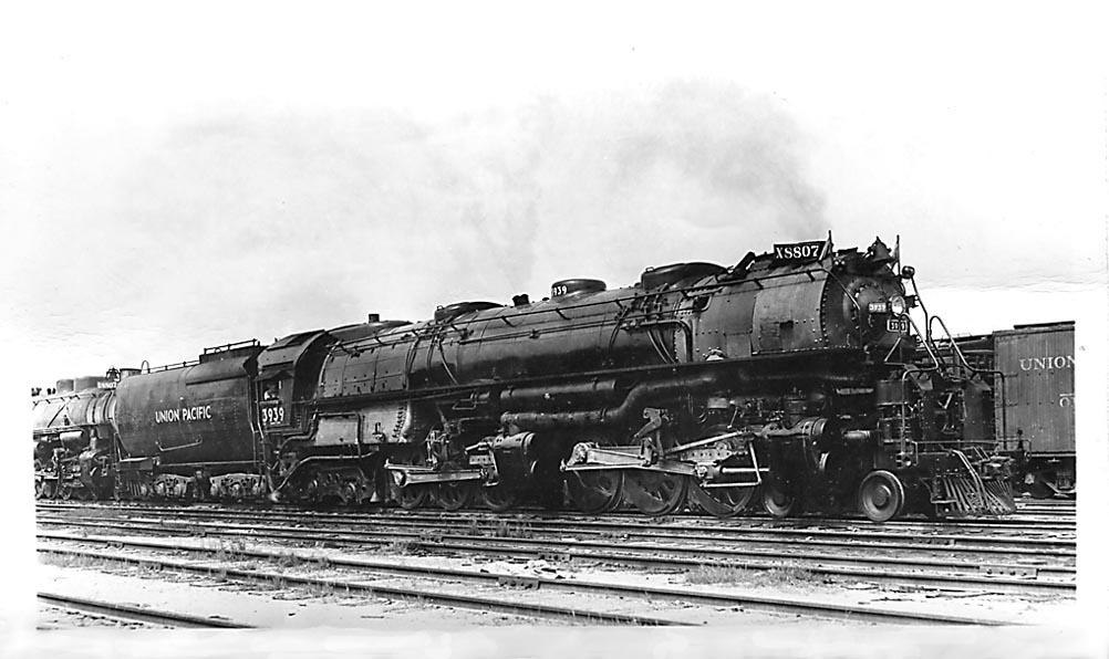 Vehicle - Rail - Locomotive - Steam - 4-6-6-4 Challenger