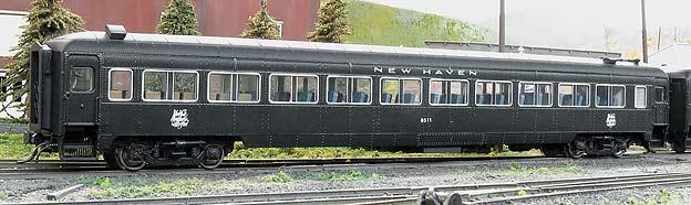 Vehicle - Rail - Passenger Car - Streamlined/Lightweight - Osgood Bradley