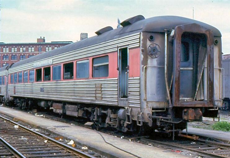 Vehicle - Rail - Passenger Car - Streamlined/Lightweight - Osgood Bradley 8600