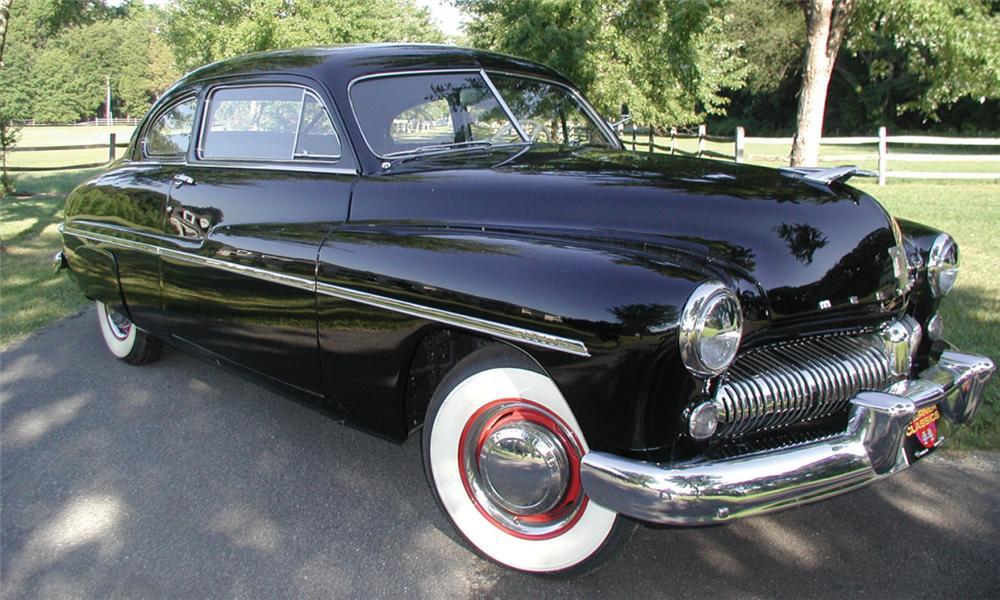 Vehicle - Vehicle - Automobile - Mercury - Eight Sedan