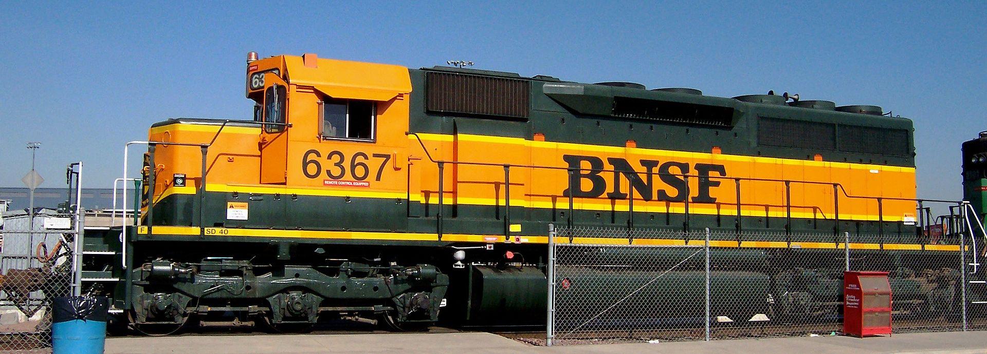 Rail - Locomotive - Diesel - EMD SD40
