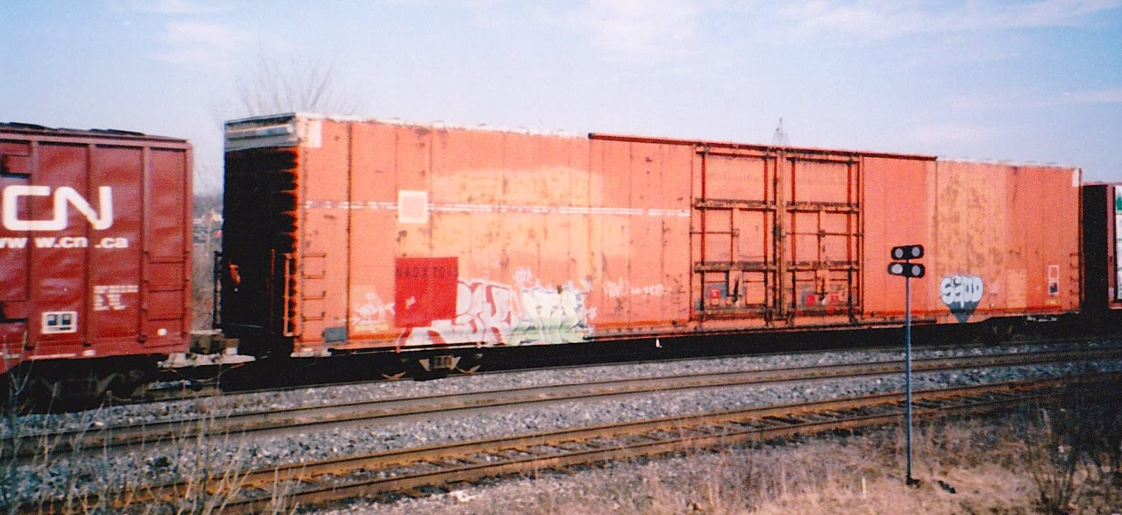 Rail - Rolling Stock (Freight) - Boxcar - 85 or 86 Foot Auto Parts
