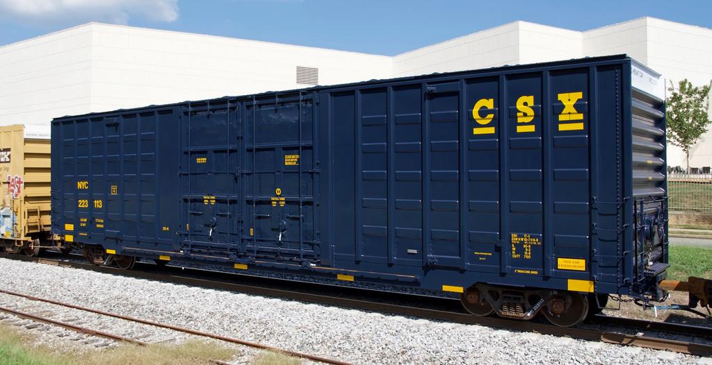 Vehicle - Rail - Rolling Stock (Freight) - Boxcar - 60 Foot Berwick Hi-Cube Waffle