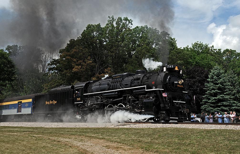 Rail - Locomotive - Steam - 2-8-4 Berkshire
